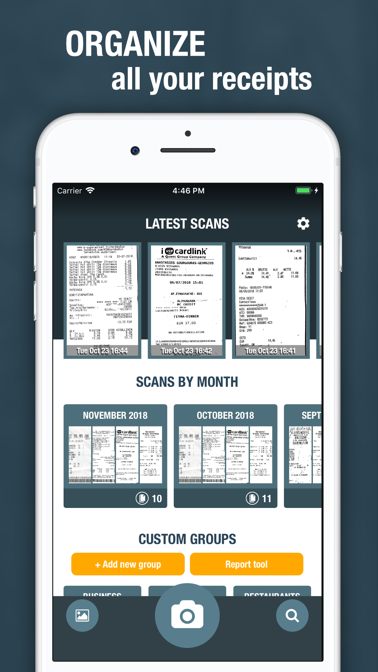 A want to share a receipt scanner app I made a while back