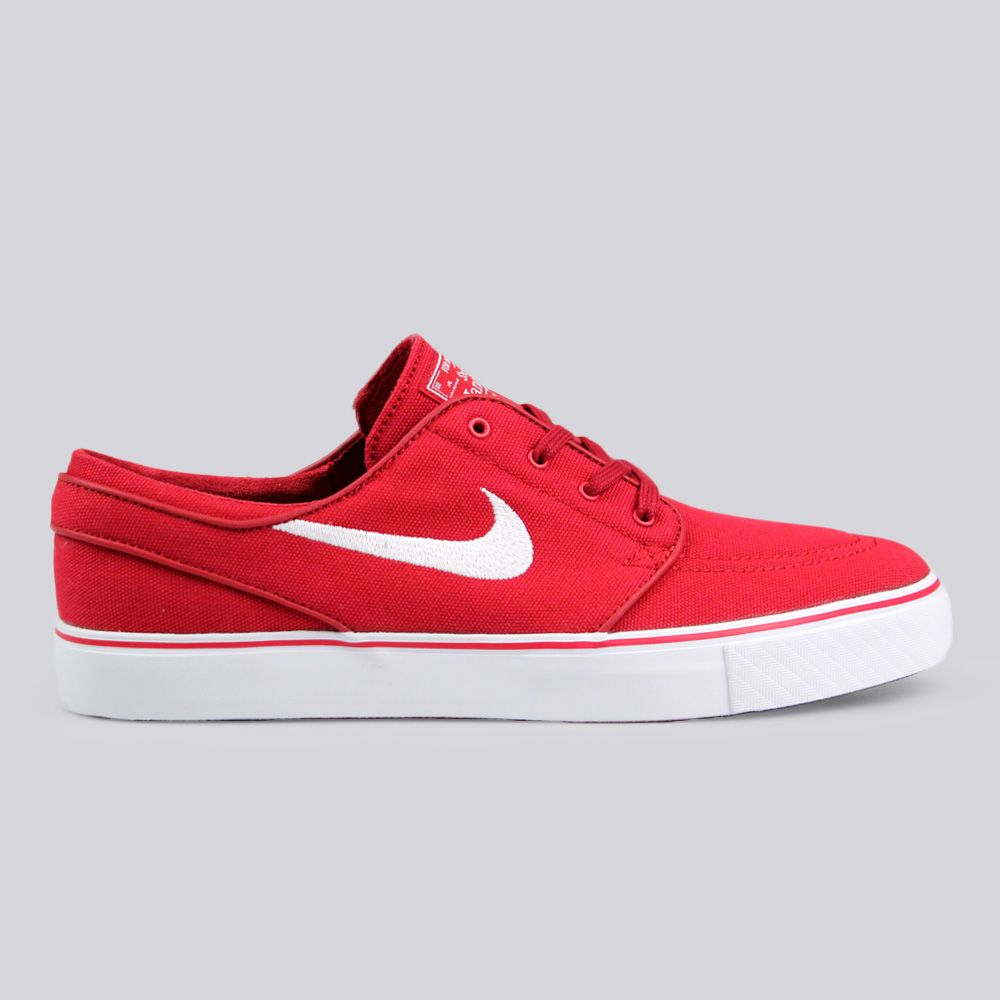 Nike SB Nike Zoom Stefan Janoski Canvas Trainers Varsity Red  f5421af26821