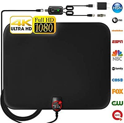 Amazon.com: 2018 Newest Amplified HD Digital TV Antenna ...