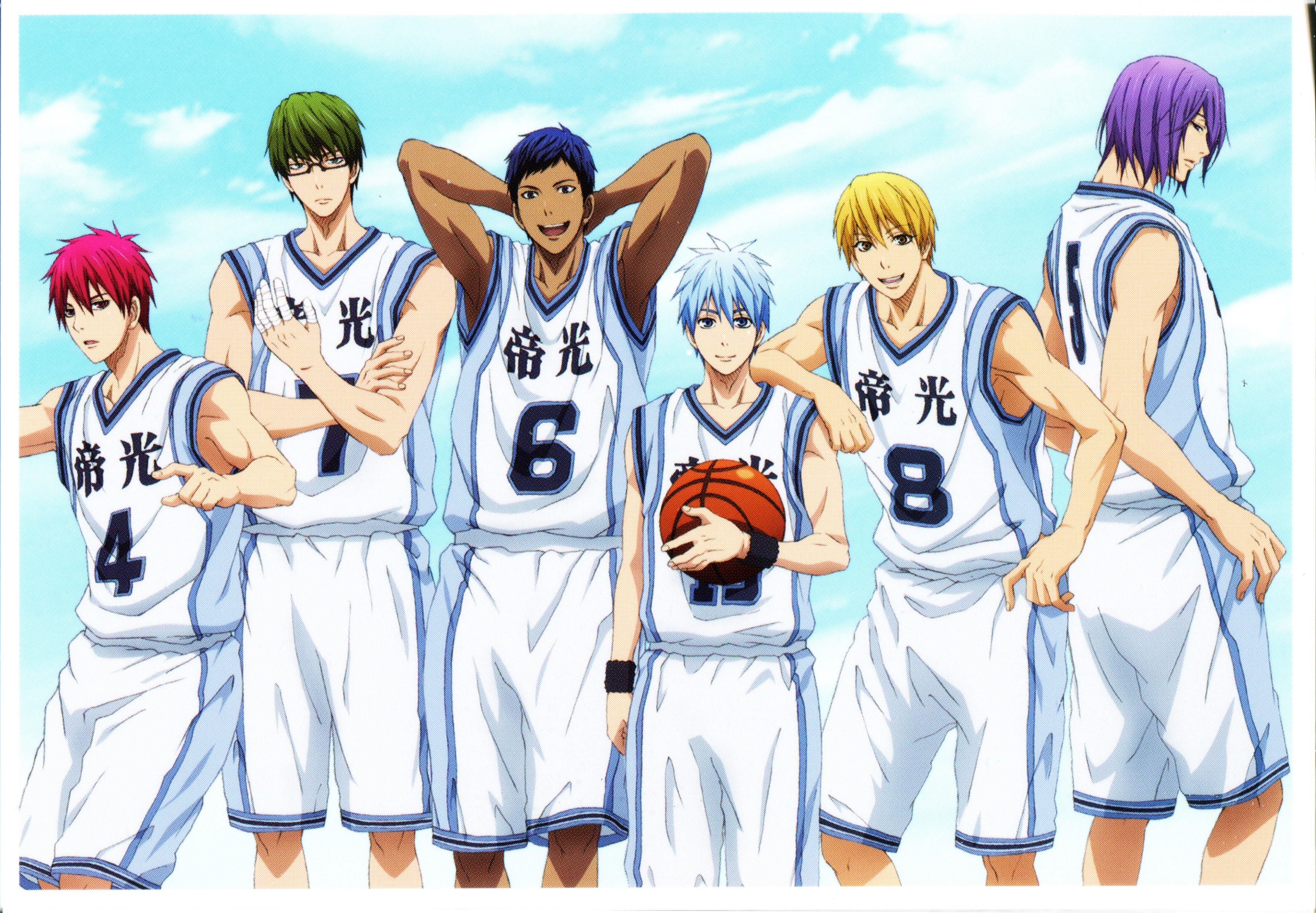 Kuroko no Basuke Kuroko no basket / Kiseki no Sedai Kuroko