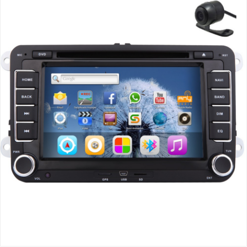 Free HD Rear Camera+Android 5 1 Autoradio Car DVD Player Stereo