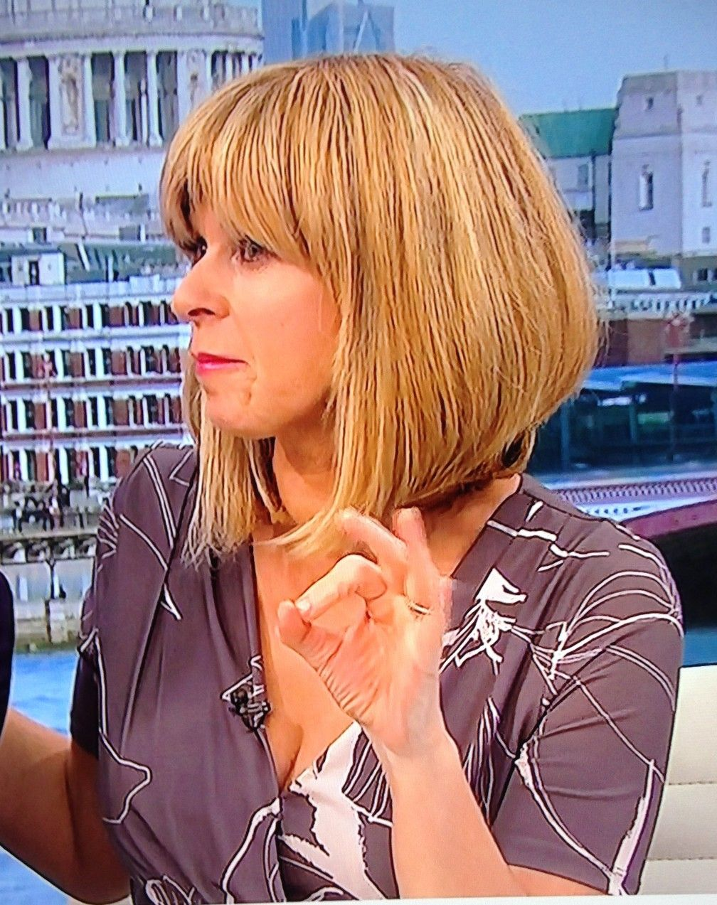 Kate Garraway From Zero To Hero I Suopose The Last Thing That People Want To Think Isvthat There Wrong Love James E F Kate Garraway Bob Hairstyles Kate