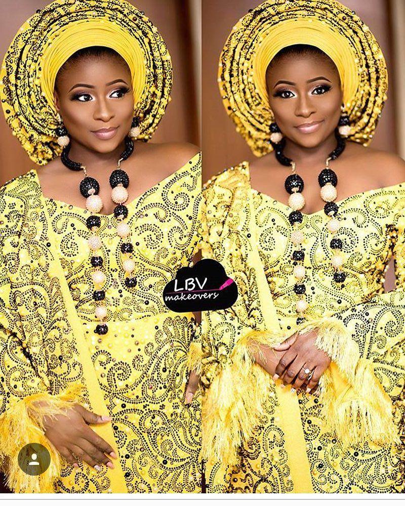 Gorgeous faramade asoebi asoebispecial speciallovers makeup