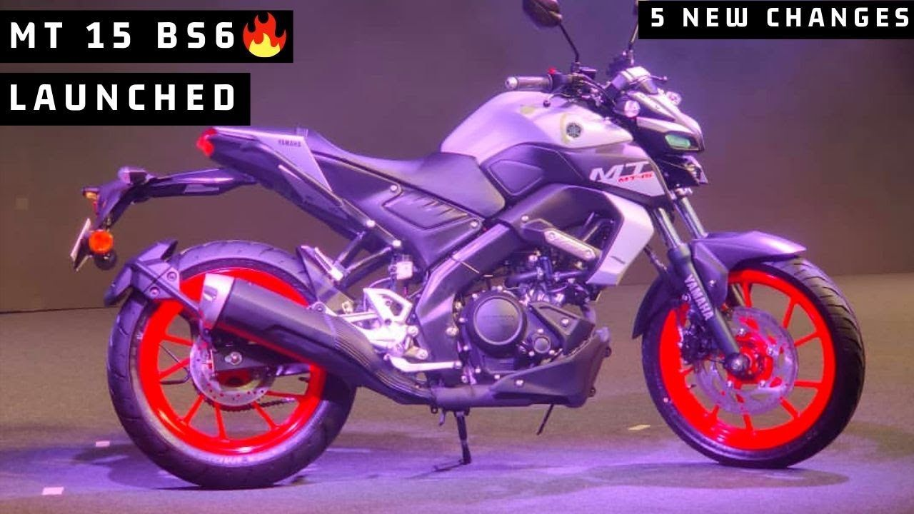 Finally Yamaha Mt 15 Bs6 Model Launched In India Price And New Cha Mt 15 Yamaha Product Launch
