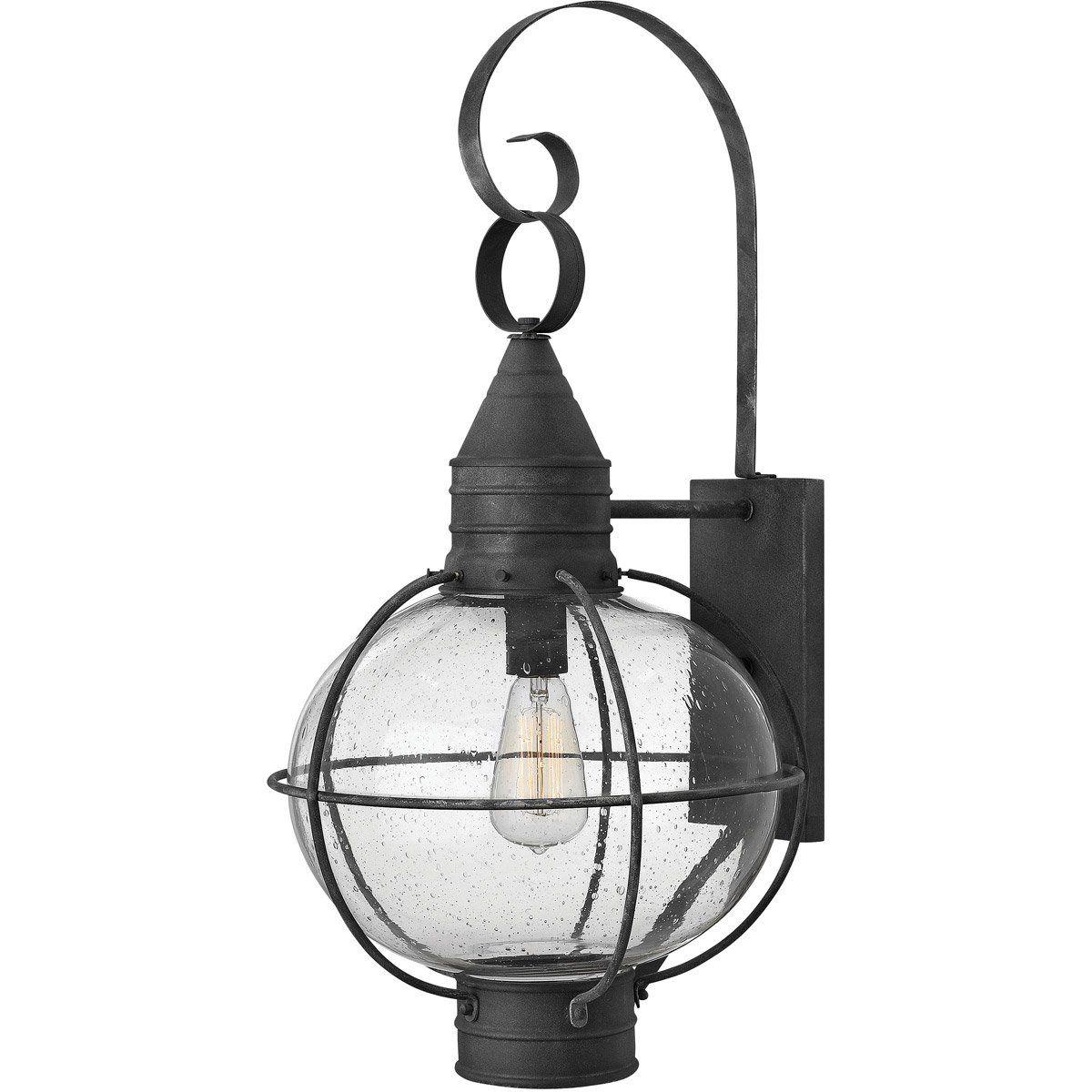 Hinkley Lighting DZ Cape Cod Light inch Aged Zinc Outdoor