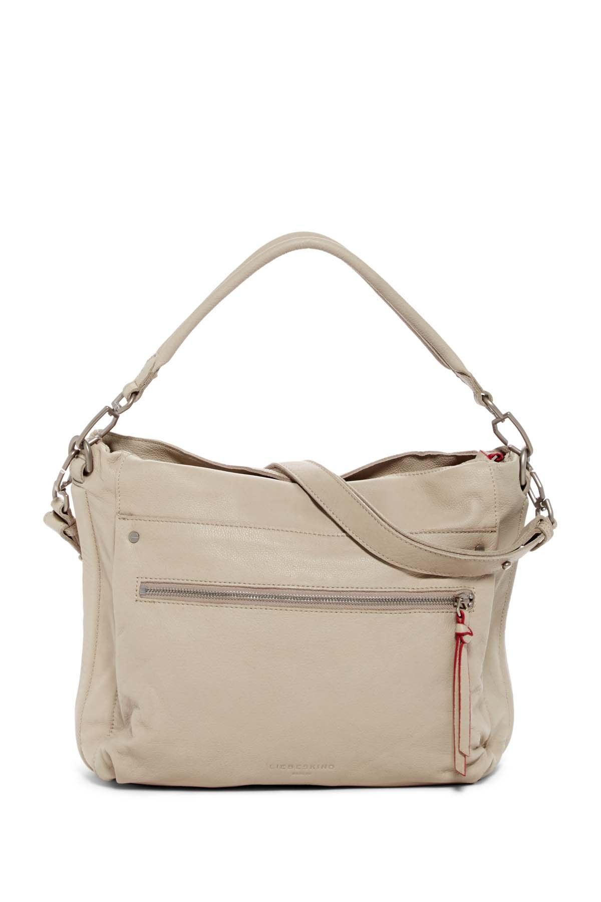 ebcfd8212903 Miramar Sporty Leather Shoulder Bag