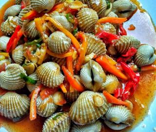 Kerang Dara Asam Manis Pedas Resep Resep Kerang Makanan Laut