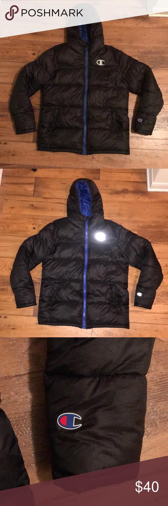 Essential Champion Puffer Jacket Clothes Design Champion Jacket Jackets [ 1740 x 580 Pixel ]