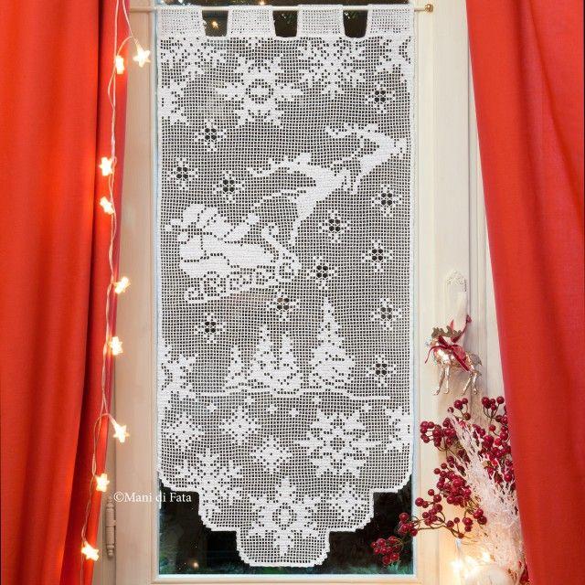 tenda occorrente chrochet pinterest gardinen borte und h kelanleitung. Black Bedroom Furniture Sets. Home Design Ideas