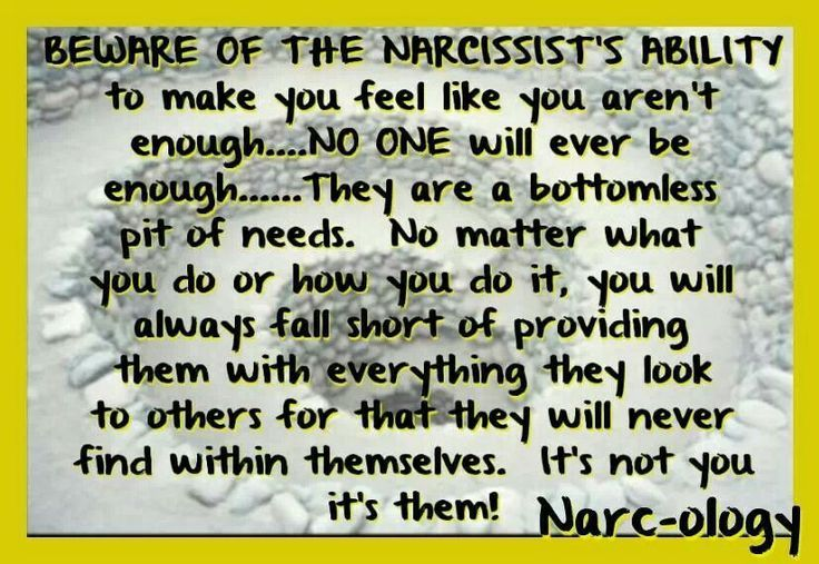Needy narcissist