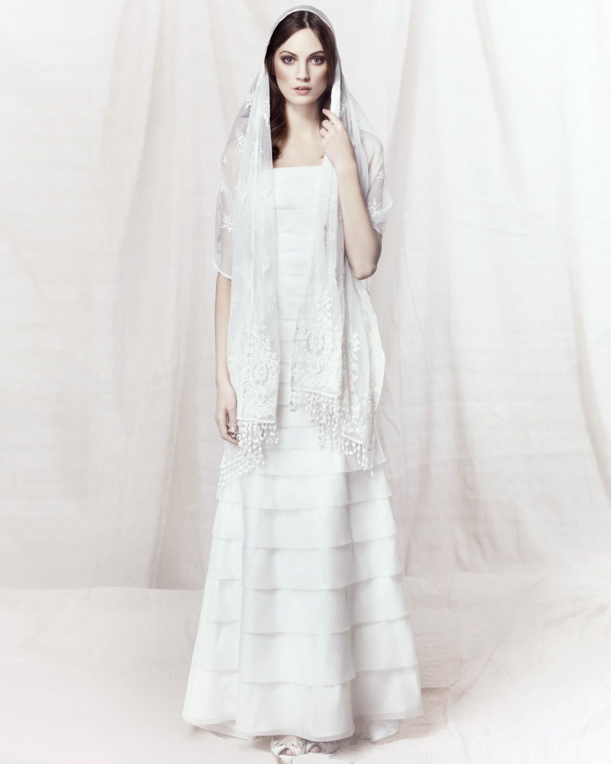 40s wedding dress  Alicia Layered Wedding Dress by Phase Eight  s style wedding