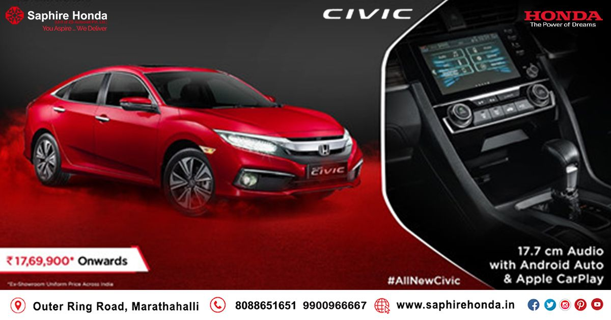 World's highest selling Honda, Honda Civic, makes its way to India. Book the #AllNewCivic now. Visit:  or Call: 8088651651 #HondaCivic #HondaOffer #HondaCars