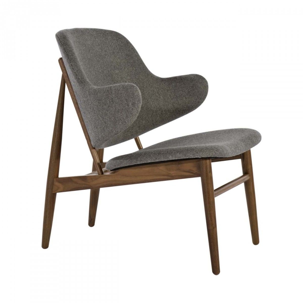 Koford Larsen IL 10 Easy Lounge Chair - The Koford Larsen IL 10 Easy Lounge  Chair will enhance your home with its mid-century inspired look.