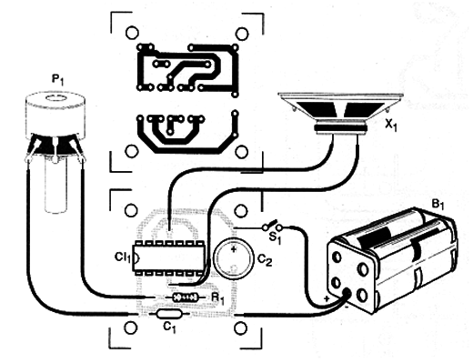 Mxr Distortion Schematic Diagram