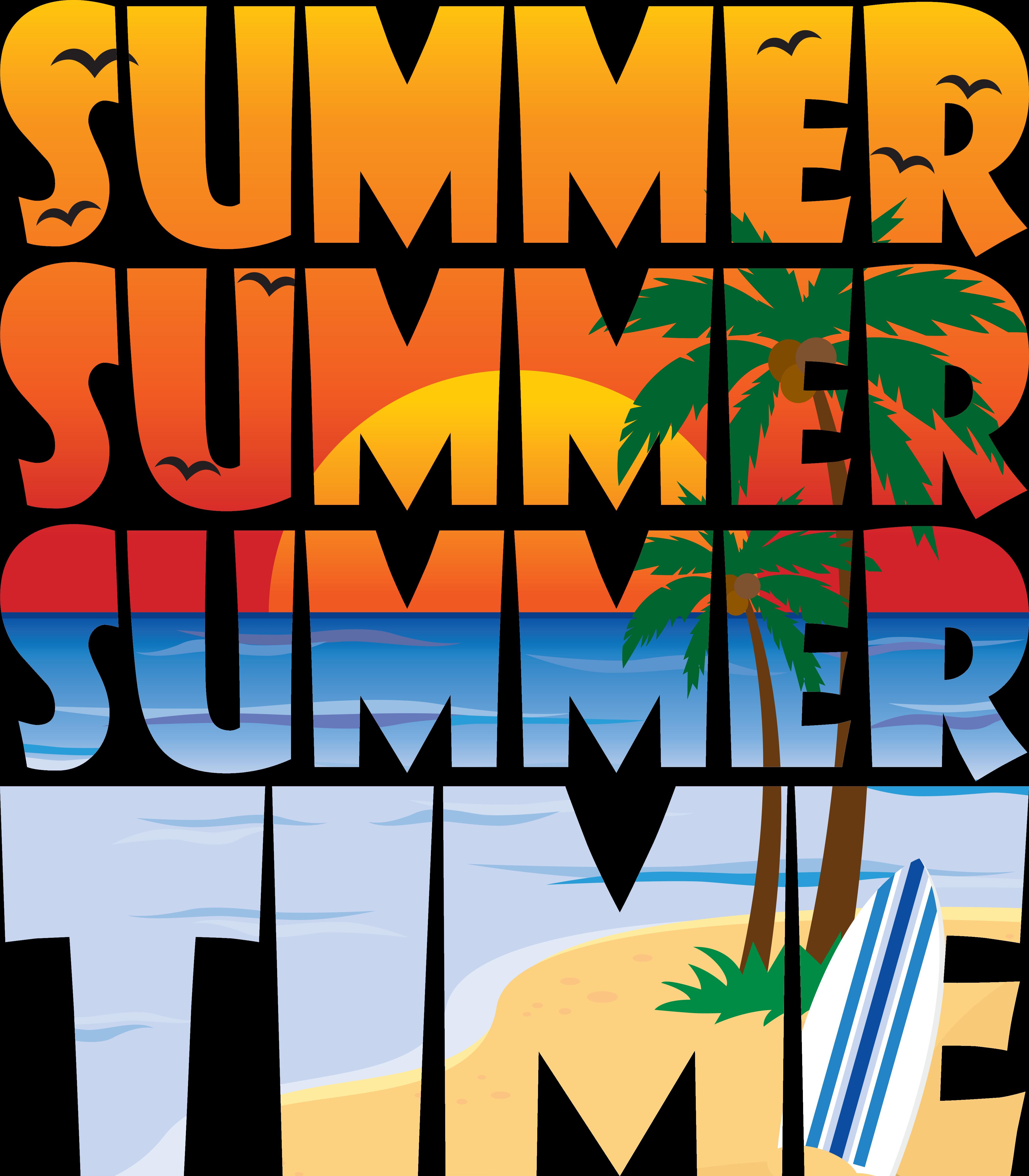 Summer Summer Time Design Illustrated Graphic Design Of A Beach Scene At Sunset Sunrise Summer H Summer Time Pictures Web Banner Design Beach Illustration