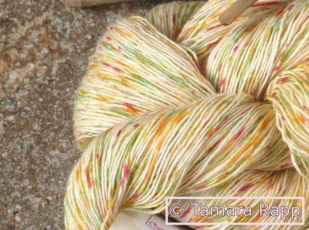Wolle & Garn - PixieFridaySeries 4 - handgefärbtes Lacegarn/Seide - ein Designerstück von HerzKoenigin bei DaWanda