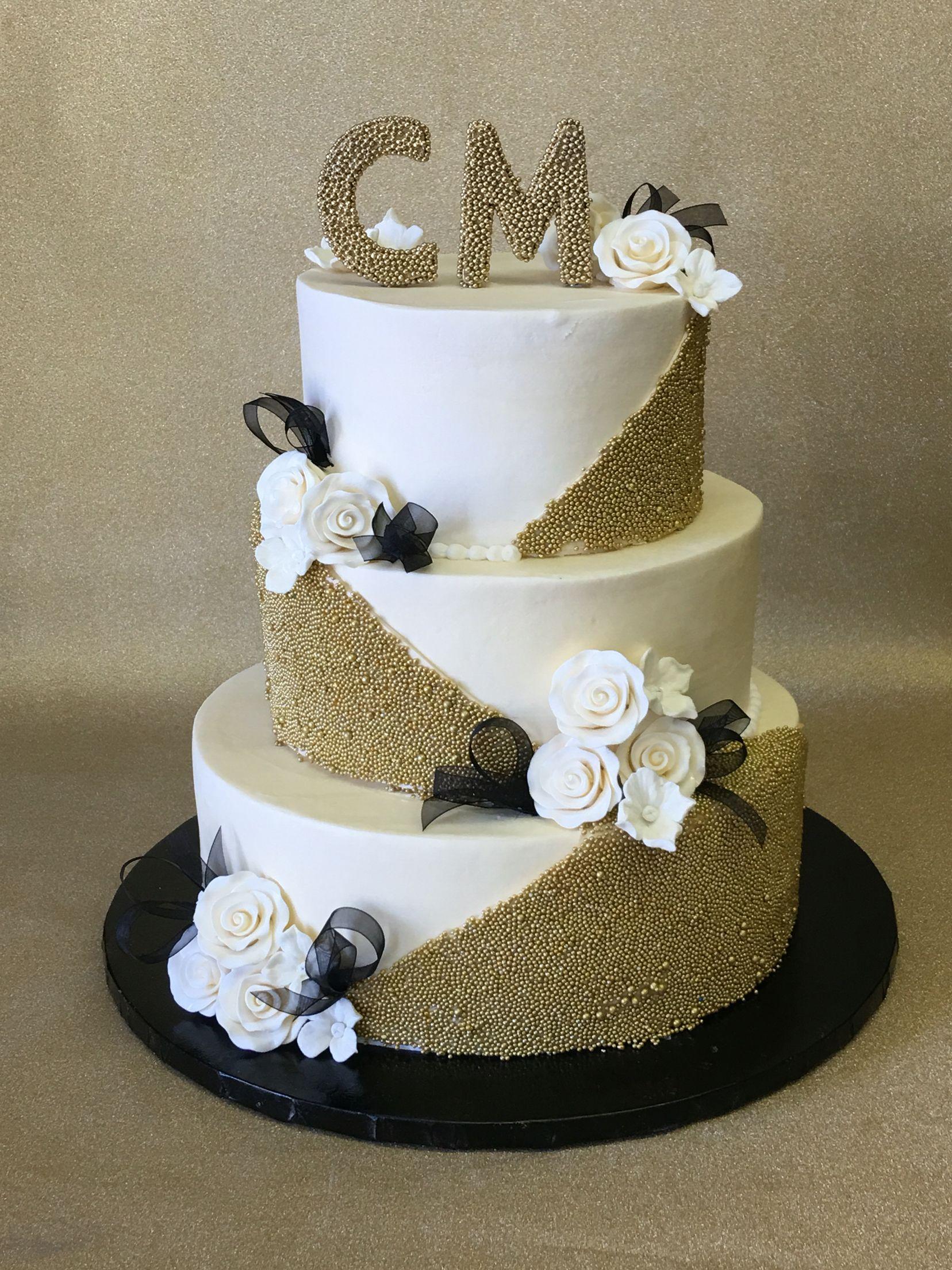 ivory and gold wedding cakecake designs las vegas | cakes