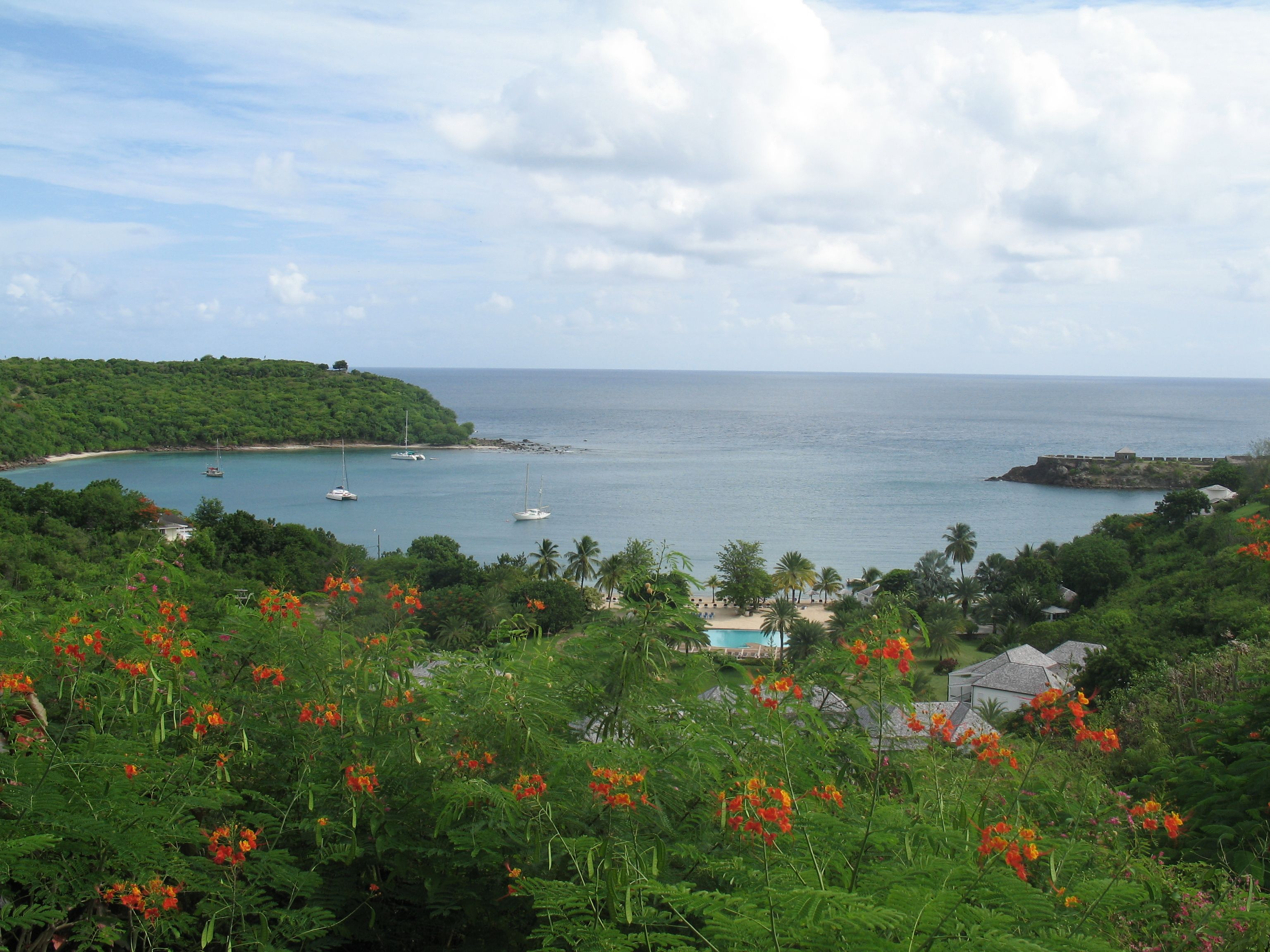 Antigua view