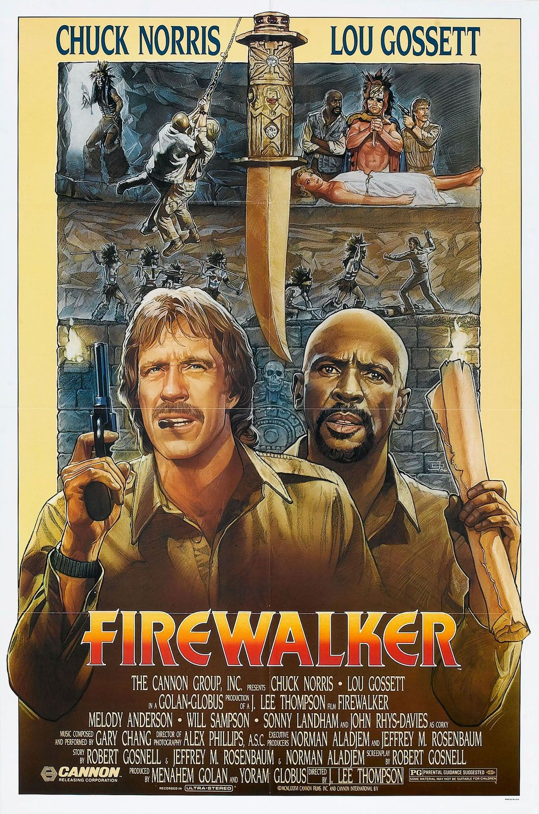 Firewalker 1986 Movies Ive Seen Pinterest Film Posters Short Circuit 27x40 Movie Poster