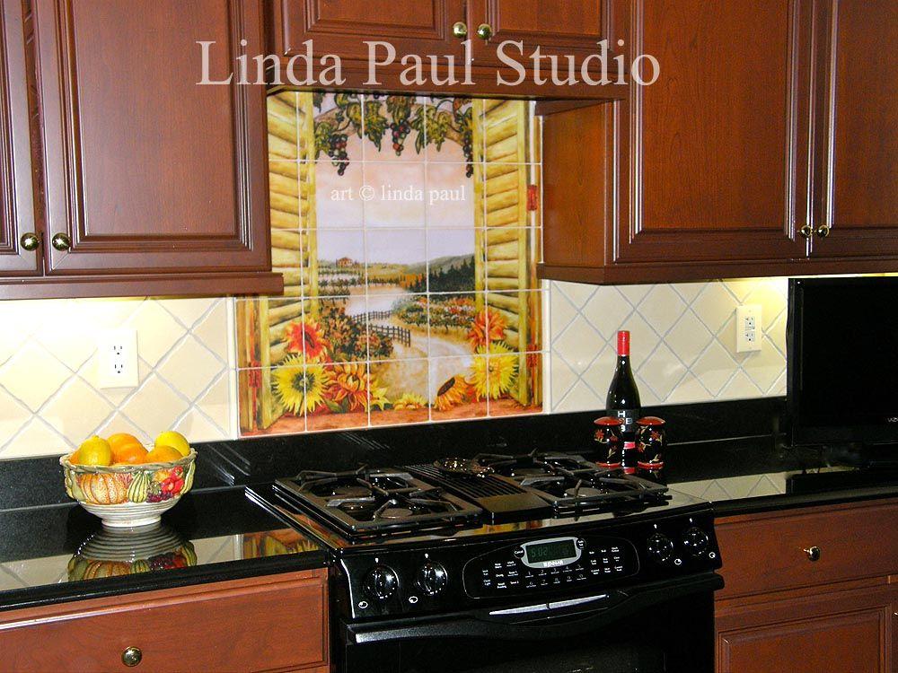 kitchen backsplash ideas   Tile Murals - Kitchen Backsplashes ...