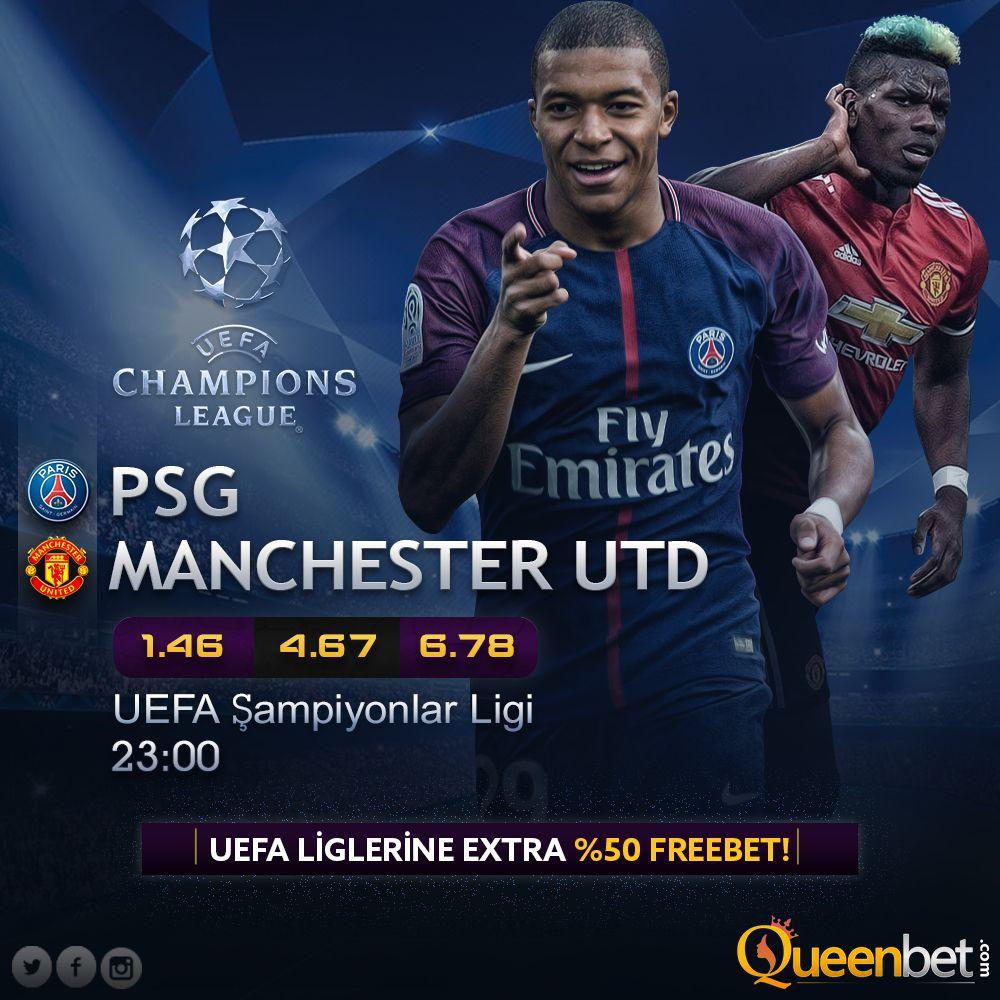 PSG Manchester UTD 🆚 🏆UEFA Champions League🏆 📅06.03.2019