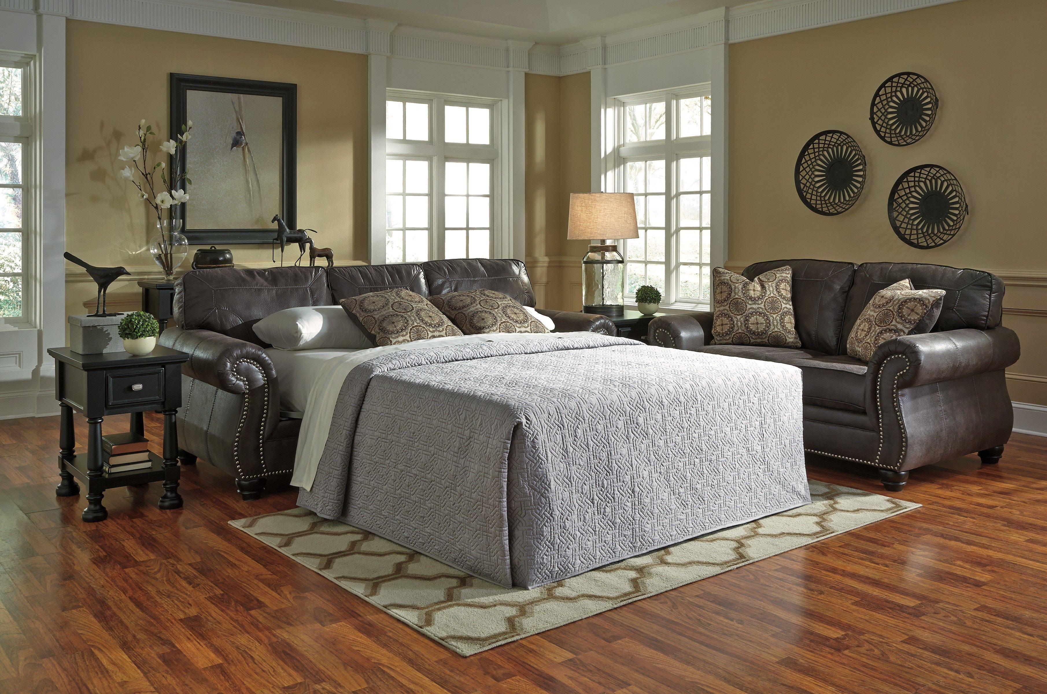 Best Breville Charcoal Queen Sofa Sleeper Furniture Queen 400 x 300