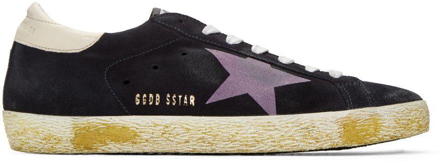 golden goose shoes Black