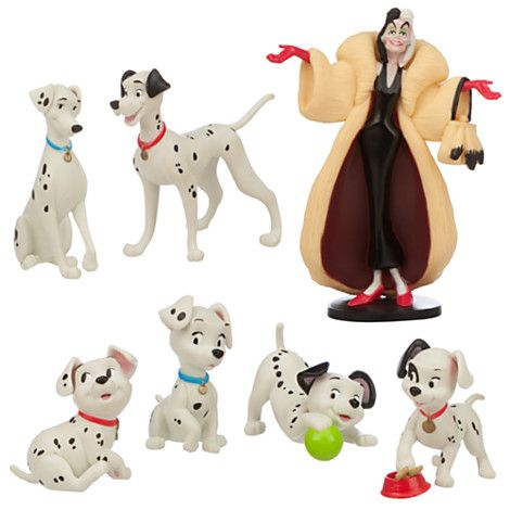 DISNEY BULLYLAND 101 DALMATIONS CRUELLA DEVILLE CAKE DECORATION COLLECTABLE