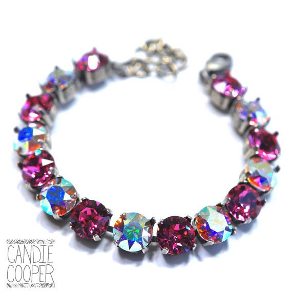 Wild At Heart Crystal Bracelet kit  DIY Jewelry by CandieCooper