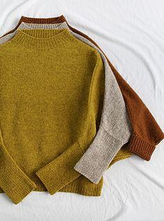 Photo of ROBIN Sweater pattern by Susanne Müller