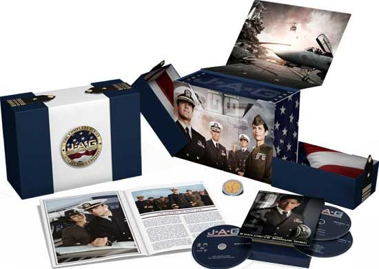 JAG - 'The Complete Series: Collector's Edition' Gift Set Includes ...