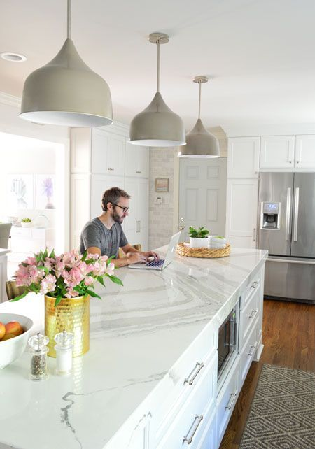 Want a full tour of our newly renovated kitchen in 4,390 words or less? Well settle in and sip some LaCroix, because this is the post for you. Shall we begin with a few before and afters? You probabl