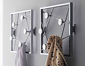 Brilliant Balcony Folding Clothes Hanger Indoor Wall-hanging Invisible Black Clothes Hanger Push-pull Retractable Clothes Shelf To Adopt Advanced Technology Bathroom Shelves Bathroom Fixtures