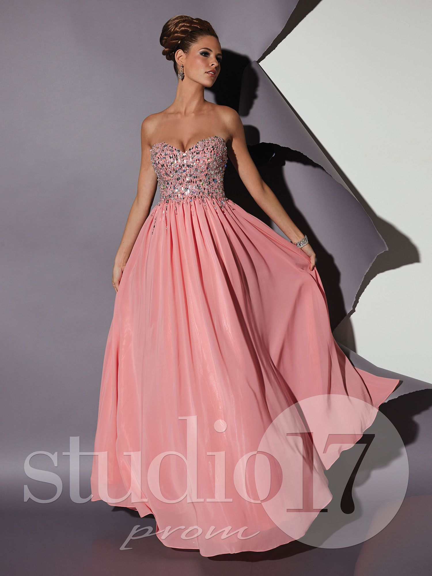 Studio17 Prom Dress Style 12452. Available at Chantilly Place ...