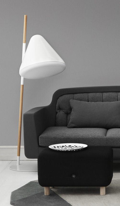 Hello Floor Lamp by Normann Copenhagen | INterior | Pinterest ...
