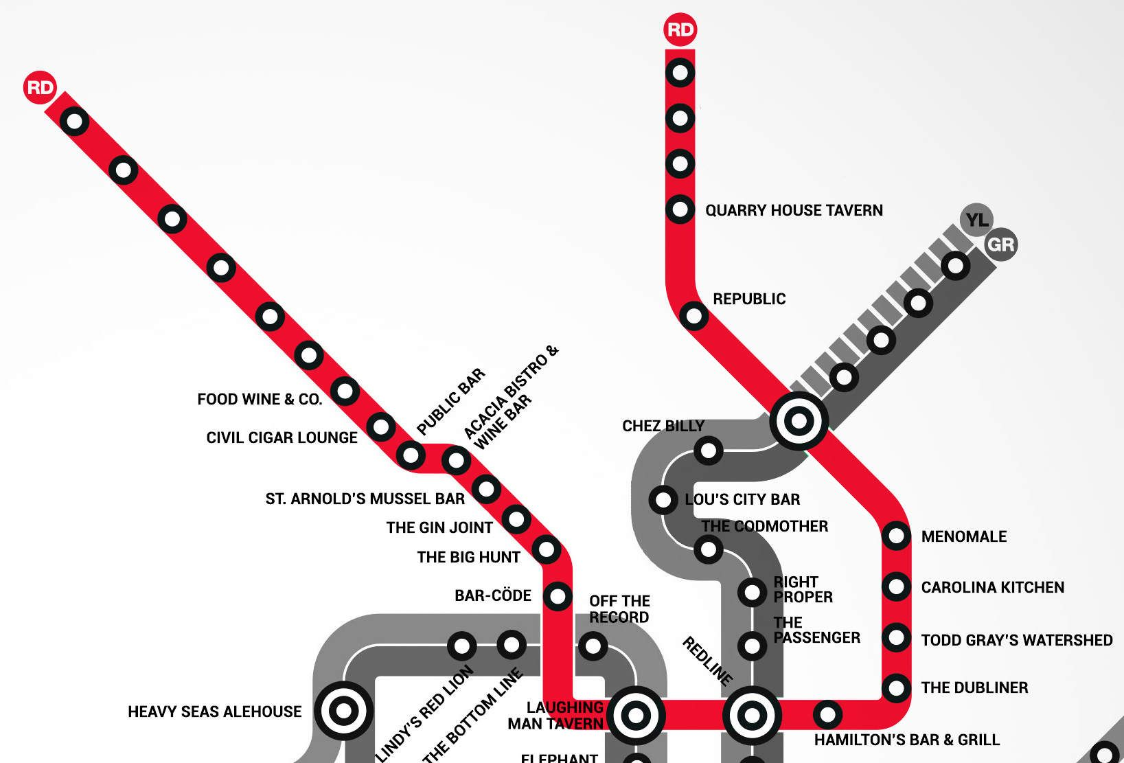 DC's first Metro bar map will direct you to beer