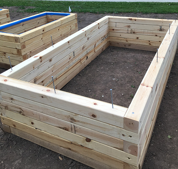 Raised Bed Garden Construction Part 2: From The Ground Up