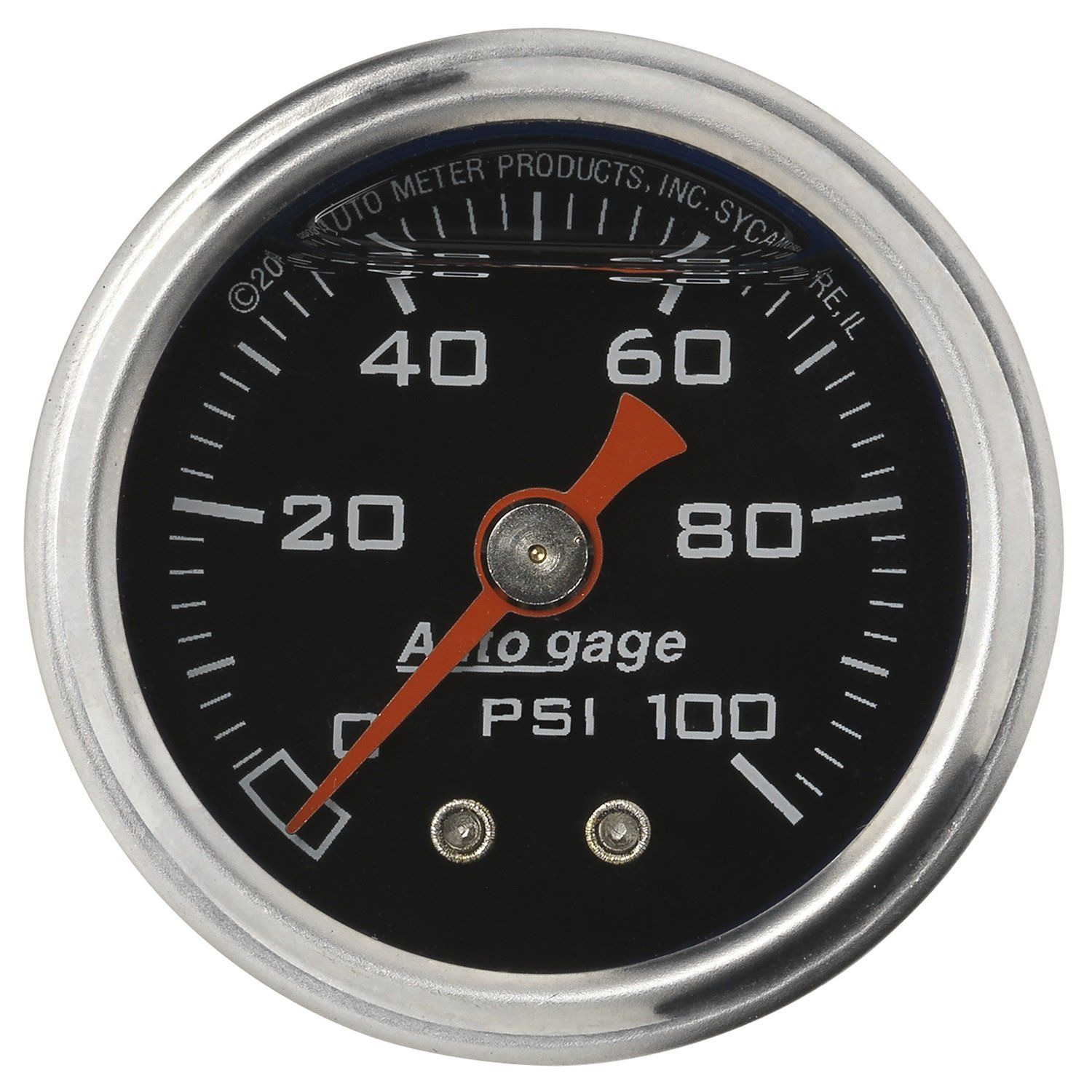 Auto Meter 2174 Autogage Fuel Pressure Gauge Continue To The