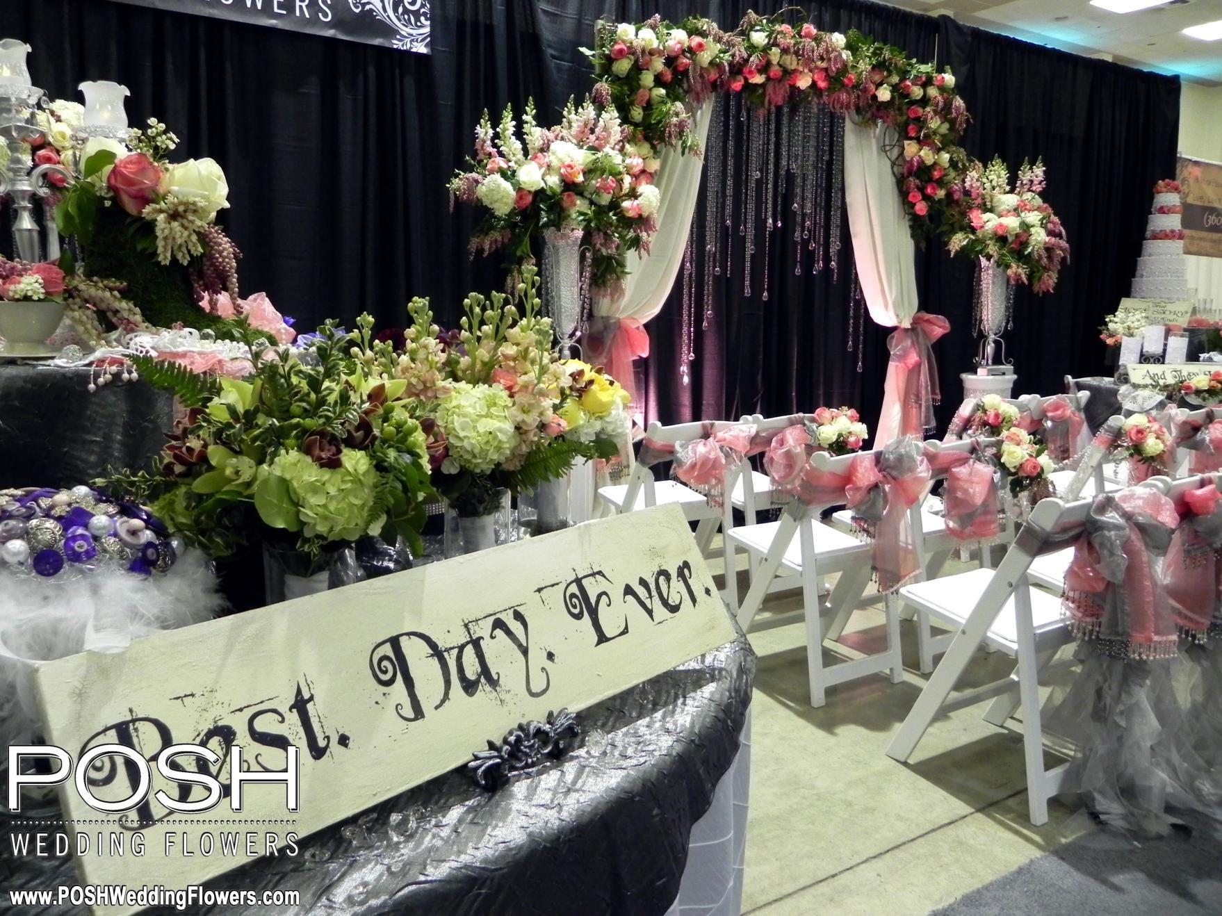 POSH booth at the Spring Tacoma Wedding Expo | Tacoma Wedding Expo