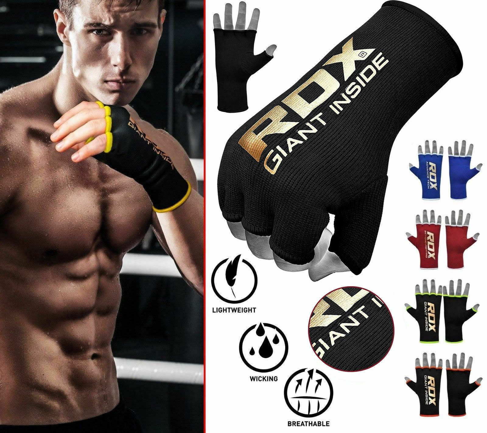 RDX Hand Wraps For Boxing Kickboxing Wrist Bandages Inner Gloves MMA Muay Thai