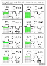 Sosprofessor Atividades Quebra Cabeca Matematico Quebra Cabeca Matematico Fracao Fichas De Exercicios De Matematica