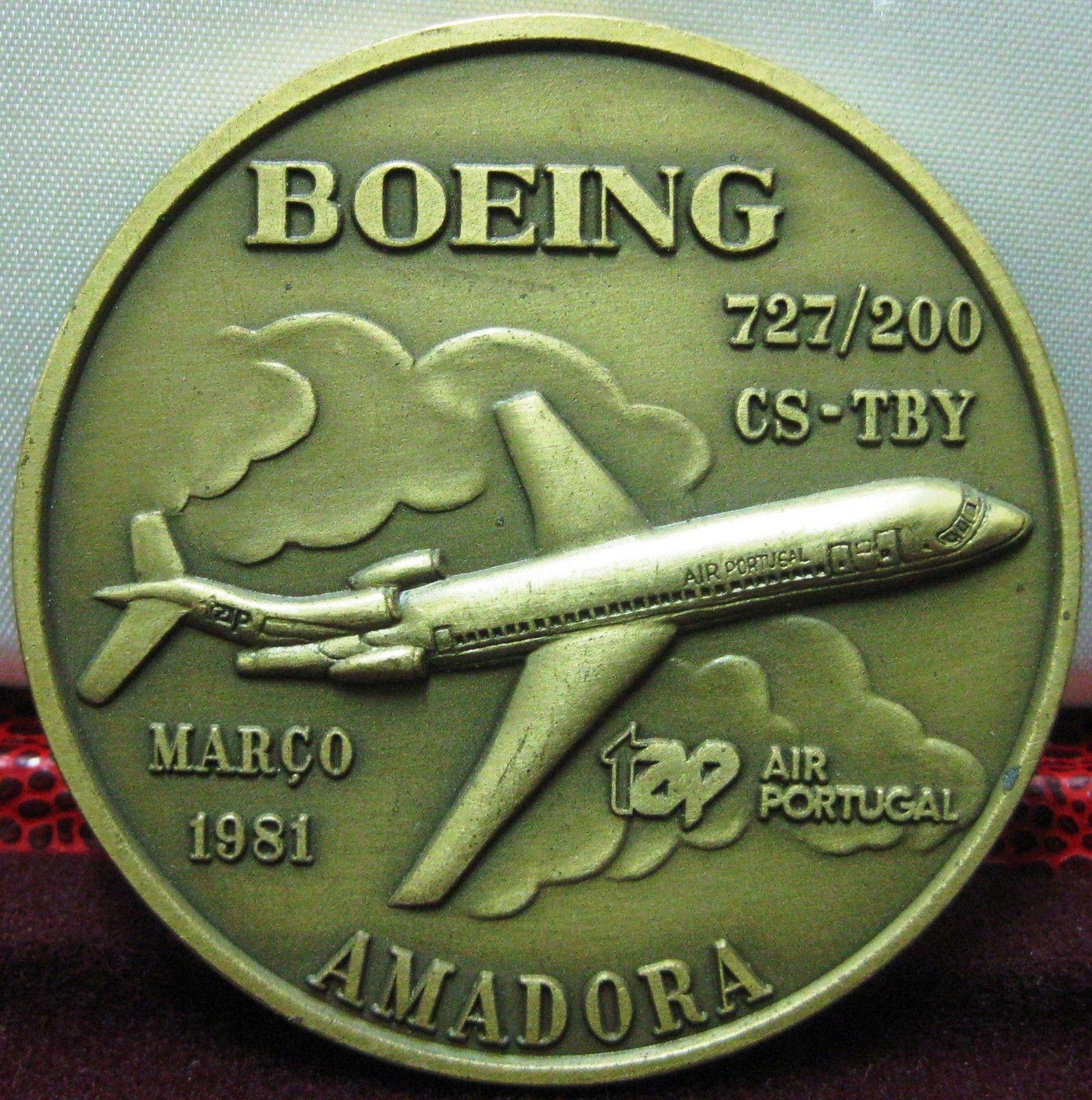 "Boeing 727/200 ""Amadora"" de TAP 1981"
