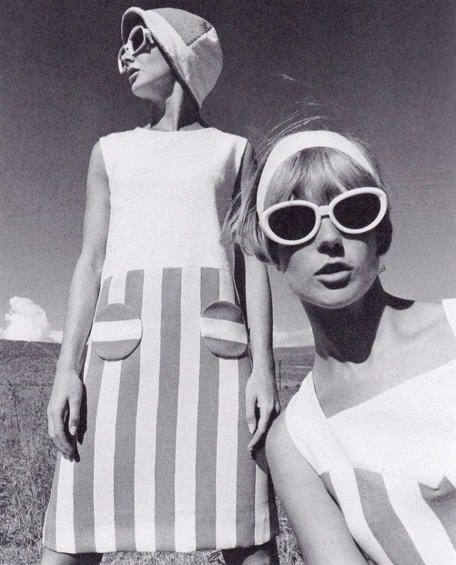 Fashion feature, Brigitte, 1966. Photograph by F.C. Gundlach.