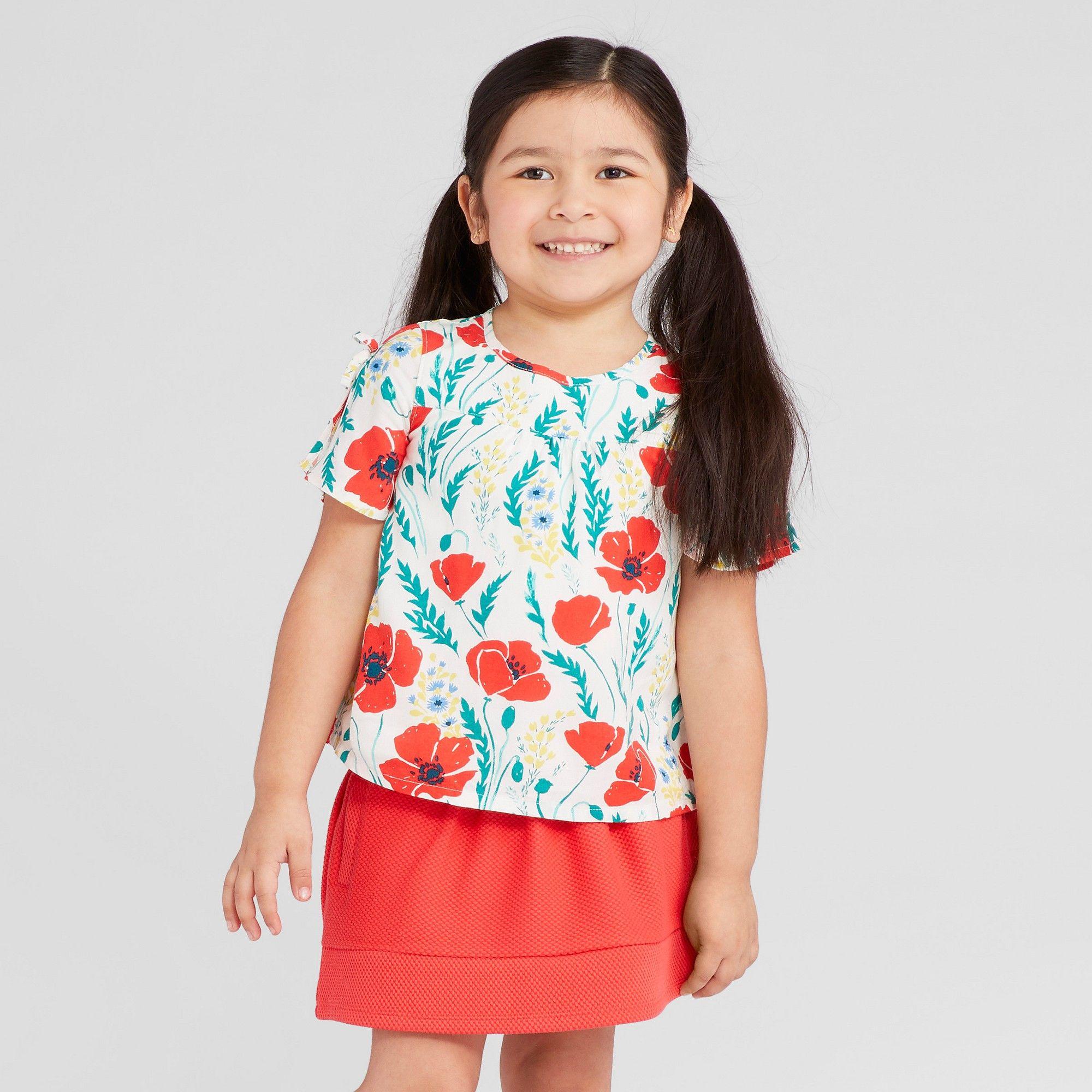 80bb57eee8f6 Toddler Girls  Open Sleeve Top - Genuine Kids from OshKosh Gallery ...