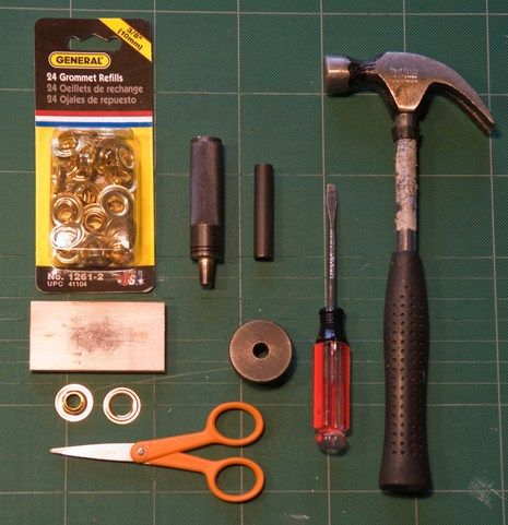 How To Install Grommets Grommet Tool Diy Curtains Diy Curtain Rods