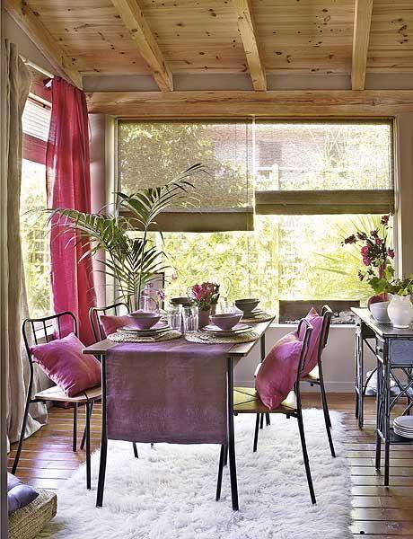 Un comedor completo en la terraza | decoracion y casas | Pinterest ...