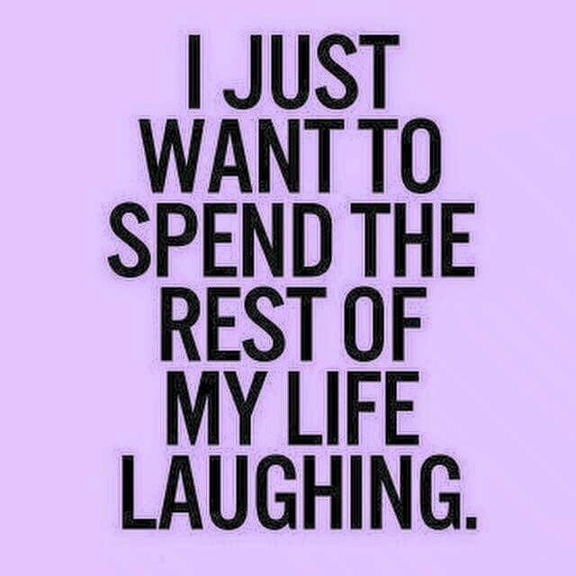 Laughter makes life better TootToot/Ditto
