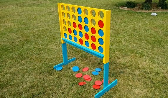giant connect four lawn games lawn and etsy