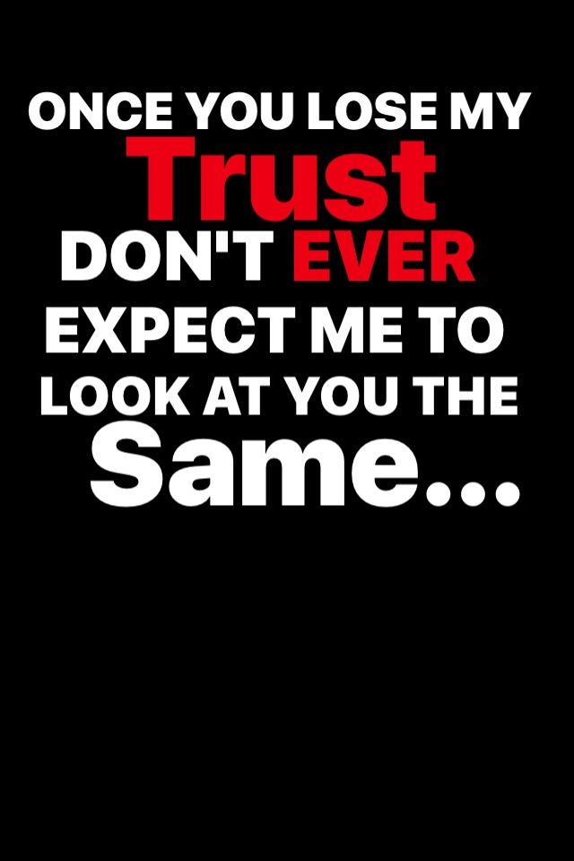 Trust Issues 😔
