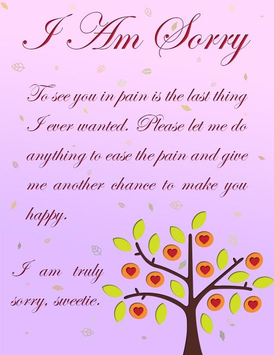 Pin By Frozan Haidari On K Sorry Cards Cards For Boyfriend Cards